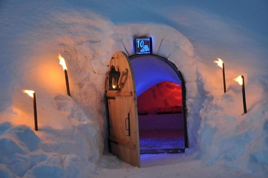Iglu Village: Sleeping igloo