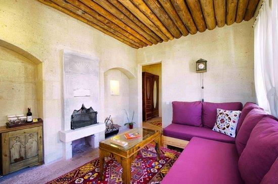 Taskonaklar : The pleasure of fireplace in your suite