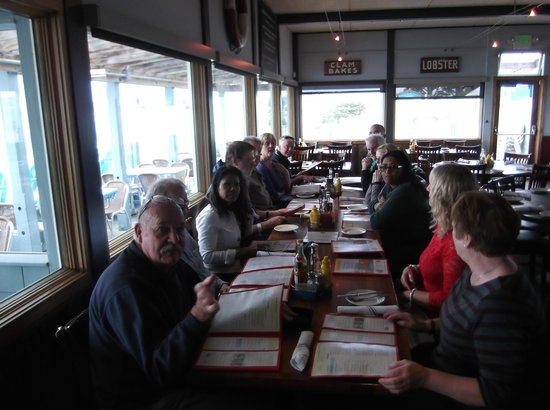 Sam's Chowder House : Eliane's birthday lunch