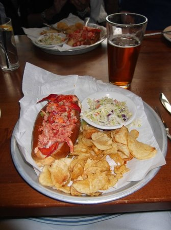 Sam's Chowder House: Sam's Lobster roll - in the top 5 sandwiches in the USA!!