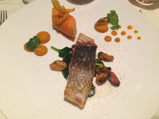Les Saisons: Original carrot based condiments with lake perch