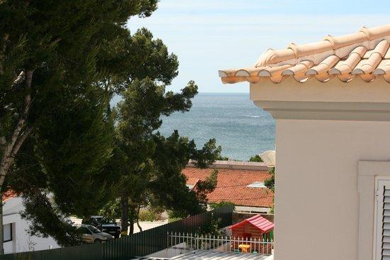 Albufeira Mar Vilas: widok z okna na ocean