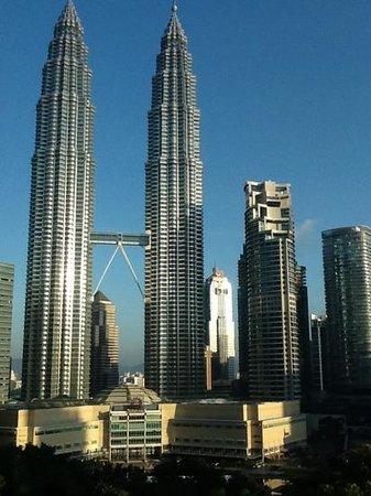 Traders Hotel, Kuala Lumpur : vue de ma chambre