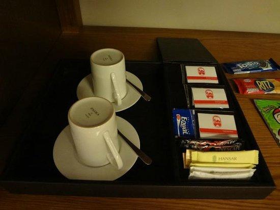 Hansar Bangkok Hotel: 紅茶は数種類