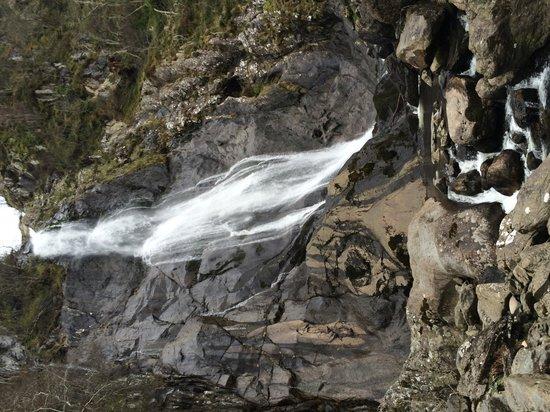 Aber Falls: The Falls