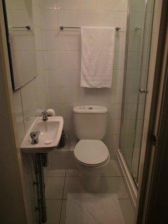 Euro Hotel Clapham : バスルーム