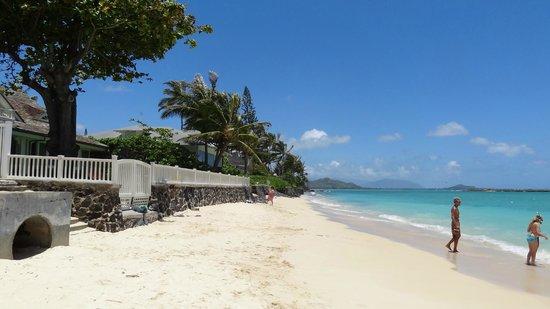 Lanikai Beach: 3番目の小道は狭いビーチへ
