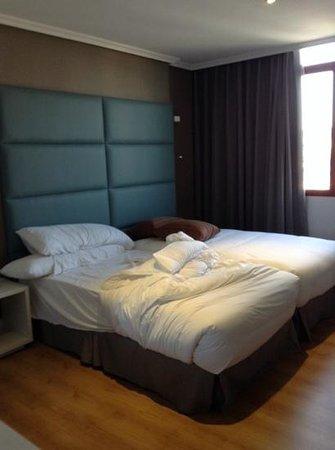 Hotel Pax: Colchones super cómodos
