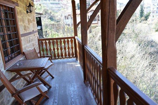 Boutique Hotel Kokkino Spiti: Balcony
