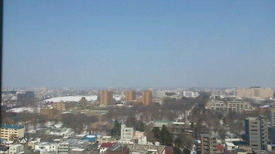 Keio Plaza Hotel Sapporo: 部屋からの眺望