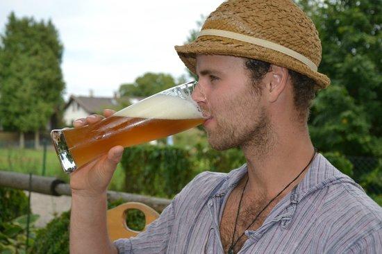 Inselhotel zur Linde: Biergarten zur Linde