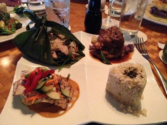 Plantation Gardens Restaurant: Chef's Trio
