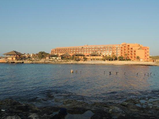 Ramla Bay Resort: The resort from across the bay