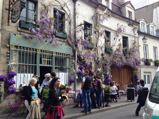 Bertie's CupCakery : Beautiful wisteria