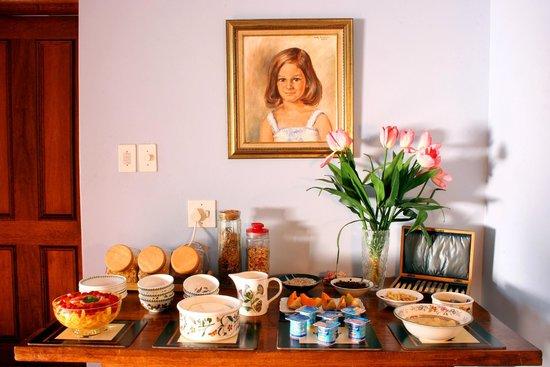 Tamboti Ridge Bed & Breakfast : Breakfast room
