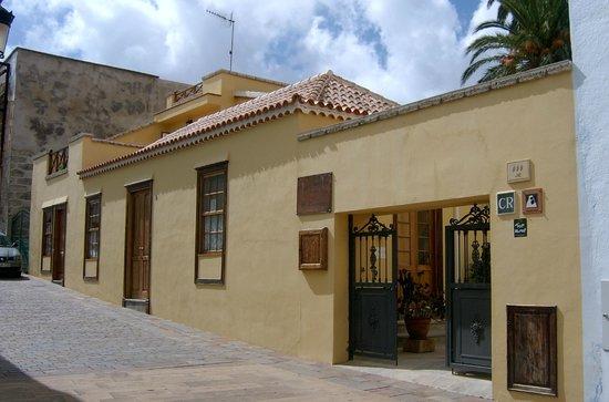 Casa El Traspatio: El Traspatio, frente de la casa rural