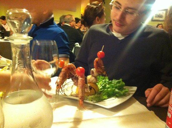 Nerino Dieci Trattoria: шашлычки
