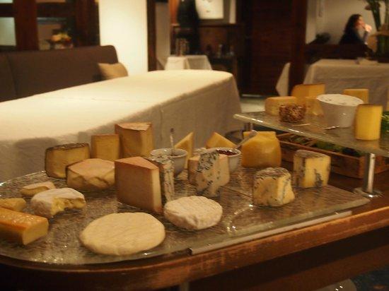 Waldhotel Fletschhorn : Cheese Board!
