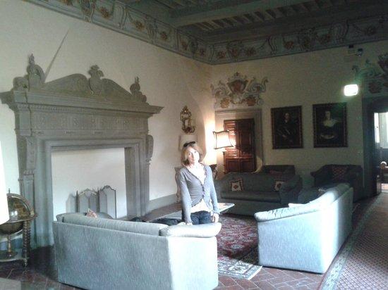 Hotel San Michele: La stupenda sala al secondo piano