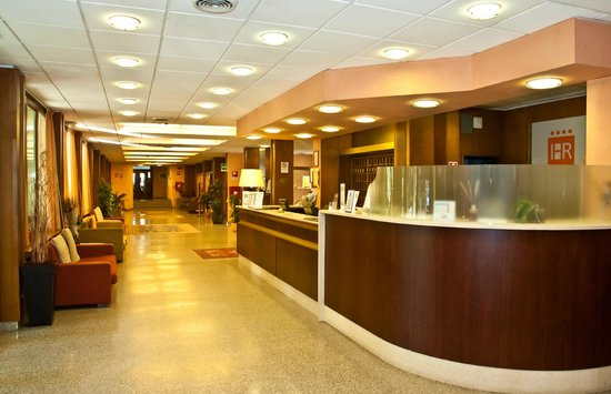 Hotel Raffaello Firenze: RECEPTION
