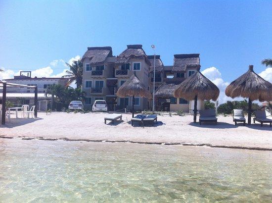 Hotel Arenas: spiaggia hotel