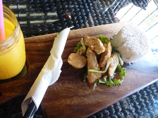 The Restore One Cafe: Sweet & Sour Chicken with Lime