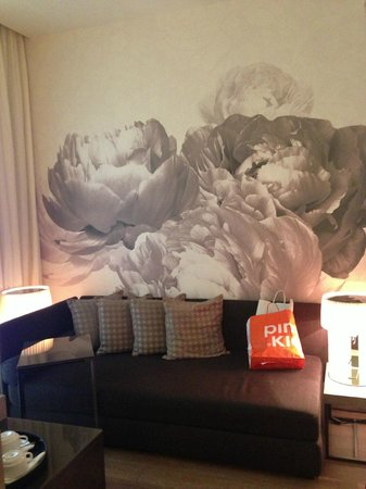 Starhotels E.c.ho.: Seating area in room