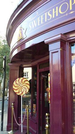 Hardy's Original Sweetshop: Side shot of Hardys sweet shop.
