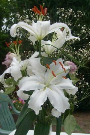 Les Chambres d'Hôtes d'Evelyne : Déco Fleurs