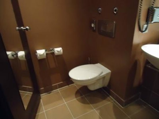 Mercure Hotel Muenchen City Center : キレイに磨かれた水まわり