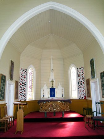 St Joseph's Church: The altar