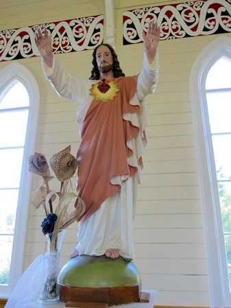 St Joseph's Church: Christ statue