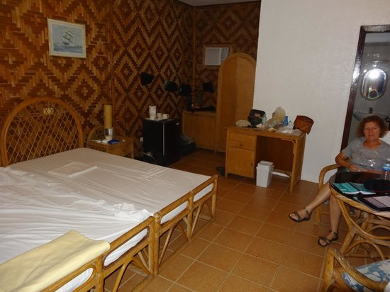 Quo Vadis Dive Resort : chambre