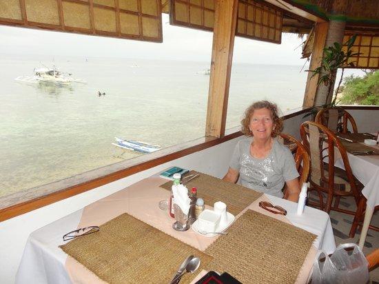 Quo Vadis Dive Resort : restaurant