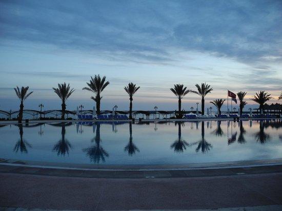 Papillon Belvil Hotel : Sonnenuntergang