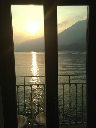 Hotel Metropole Bellagio: Room view