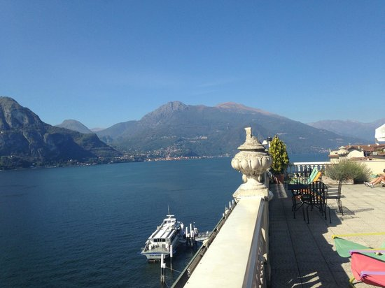 Hotel Metropole Bellagio: Roof Terrace view