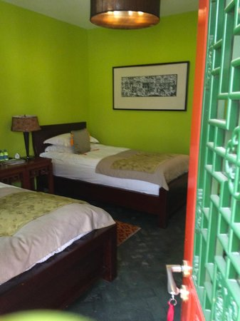Hotel Cote Cour Beijing: Color Everywhere