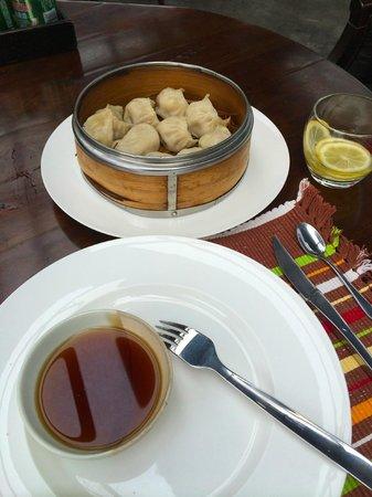 Hotel Cote Cour Beijing: Yummy Hommade Dumplings