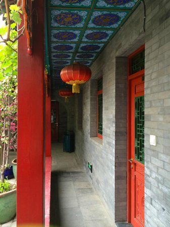 Hotel Cote Cour Beijing: Walkway