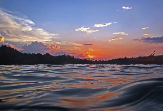 Blue Bay Divers: Sonnenuntergang in der Blue Bay