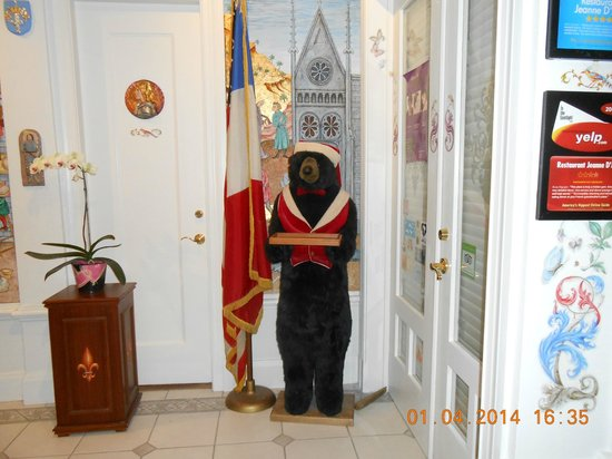 Cornell Hotel de France: entree