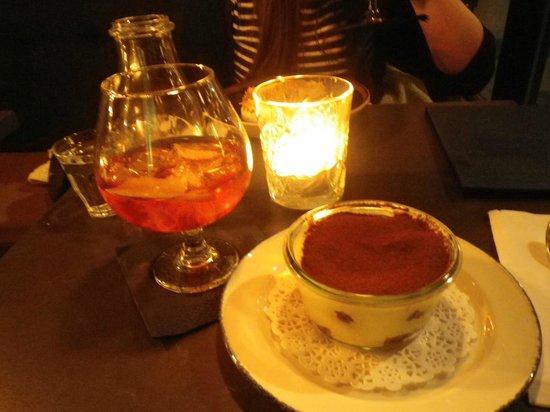 Candeur Dessert & Cocktail Bar : Tiramisu & Sazerac à la Maison