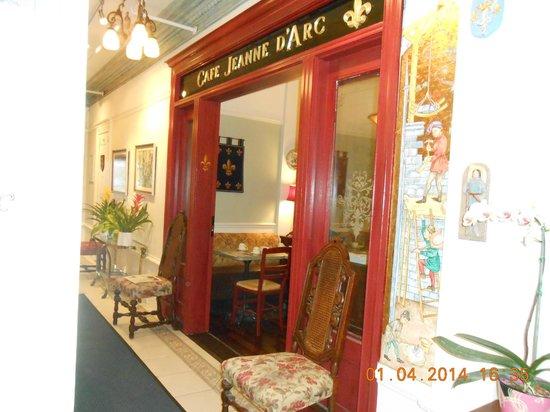 Cornell Hotel de France: cafe