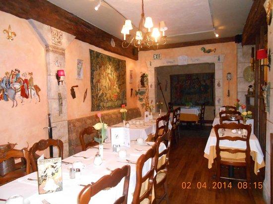 Cornell Hotel de France: repas