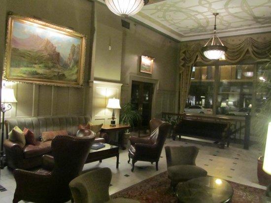 The Oxford Hotel : Hotel Lobbyi