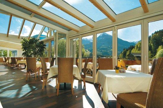 Sonnenbichl Hotel am Rotfischbach: Wintergarten im Hotel Sonnenbichl am Rotfischbach