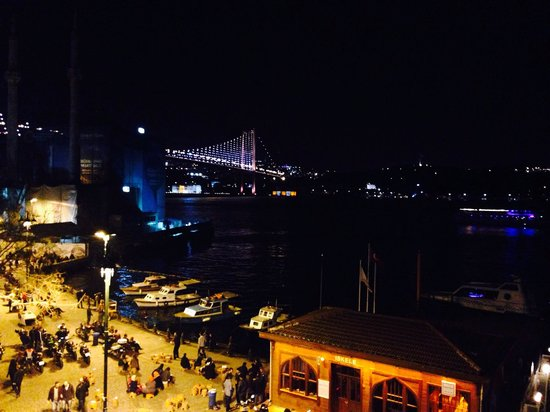 The House Hotel Bosphorus: The view from our room