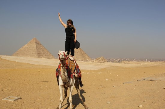 Ramasside Tours - Day Tours: Camel riding through The Great Pyramids of Giza