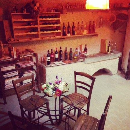 Casa de' Trinci : La nostra cantina sotterranea